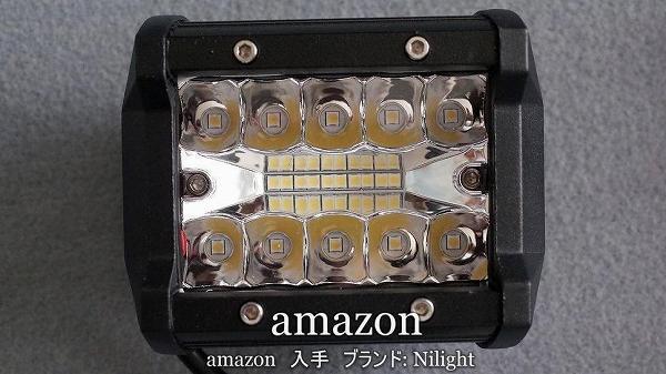 LED作業灯 デッキライト 60W作業灯 amazon入手