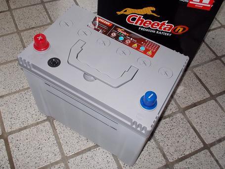 バッテリー Cheeta 85D26R 01