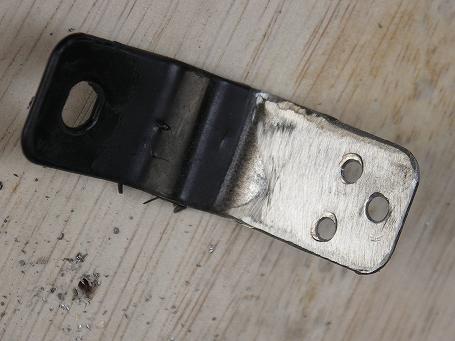 スペースギア リアガラス外れ修理